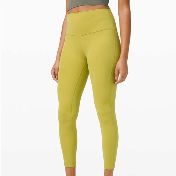 """Lululemon 25"""" align leggings"""